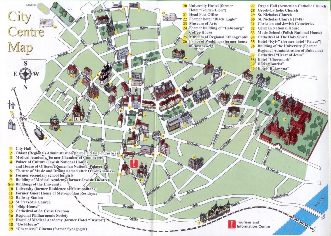 The destiny of Chernivtsi (Czernowitz), as a city and the capital of ...